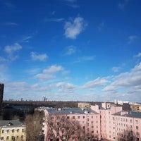Photo taken at Большая Остроумовская улица by Ksenia S. on 2/26/2017