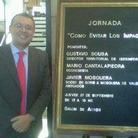 Photo taken at Club Financiero Atlántico by Gustavo S. on 9/27/2012