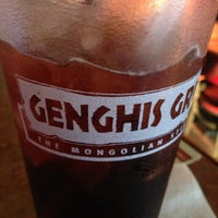 Photo taken at Genghis Grill by Greg C. on 5/5/2013