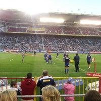 Foto tirada no(a) Newlands Rugby Stadium por Lloyd J. em 3/24/2013