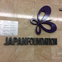 Photo taken at The Japan Foundation by Dhyan S. on 3/8/2016