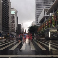 Photo taken at Av Paulista 1345 by Flavinha M. on 12/25/2013