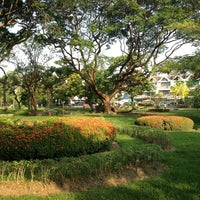 Photo taken at Khlong Chan Botanical Park by 9Tee T. on 4/21/2013