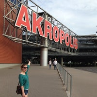 Photo taken at Akropolis by Tiffany T. on 6/16/2013