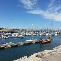 Photo taken at Oeiras Yacht Harbour by Andre on 4/21/2013