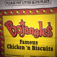 Photo taken at Bojangles' Famous Chicken 'n Biscuits by Corey O. on 11/19/2016