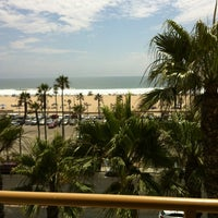 Photo taken at The Waterfront Beach Resort, a Hilton Hotel by Joseph S. on 7/12/2013