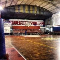 Photo taken at Club 25 de Agosto by Juan P. on 4/18/2013