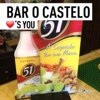 Photo taken at Bar O Castelo by Andre S. on 3/23/2013