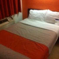 Photo taken at Motel 6 San Marcos by Edu A. on 11/2/2014