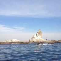 1/13/2013にAritaka S.が烏帽子岩(姥島)で撮った写真