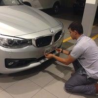 Photo taken at Sael (BMW) by Antonio G. on 12/17/2014