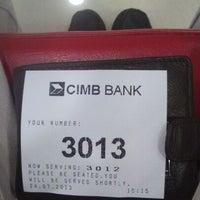 Photo taken at CIMB Bank by Farhan F. on 7/24/2013