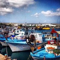 Photo taken at Larnaca Marina by Lana K. on 7/22/2013