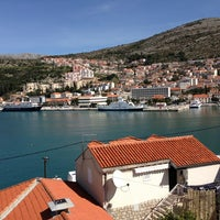 Photo taken at Dubrovnik Port by Ksenia L. on 3/23/2013