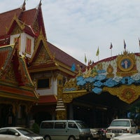Photo taken at Wat Thep Leela by Mami H. on 4/14/2013