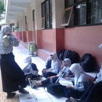 Photo taken at SMP Negeri 1 Bandung by hendri on 3/21/2013