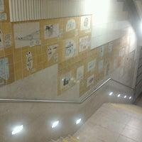Photo taken at Metro Quinta das Conchas [AM] by Flávio O. on 3/14/2013