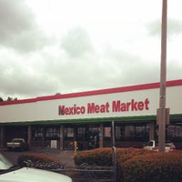 Photo taken at Mexico Meat Market by Eric D. on 3/28/2013