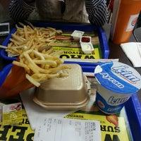 Photo taken at Burger King by Burcu D. on 3/9/2013