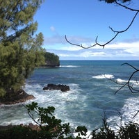 Photo taken at Hawaii Tropical Botanical Garden by Whitney M. on 1/11/2013