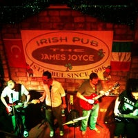 Photo taken at Irish Pub The James Joyce by Burak O. on 10/6/2012
