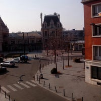 Photo taken at Le Grand Hotel de Valenciennes by Сергей Д. on 4/7/2013