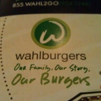 Photo taken at Wahlburgers by Annie L. on 9/29/2012