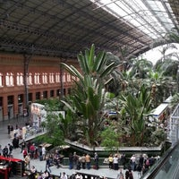 Photo taken at Madrid-Puerta de Atocha Railway Station by Aissam B. on 4/25/2013