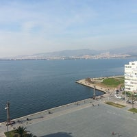 Photo taken at Mövenpick Hotel Izmir by Anıl O. on 3/6/2013