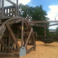 Photo taken at Barrington Community Playground by Andy on 6/9/2013