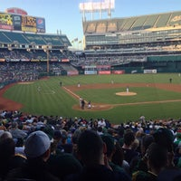Photo taken at O.co Coliseum by Chris B. on 6/13/2013