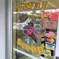 Photo taken at Royal Scoop Homemade Ice Cream by Patric J. on 1/14/2016