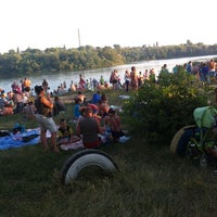 Photo taken at ПлЯж победа by Sergey V. on 7/6/2014