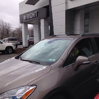 Photo taken at Wright Buick, SAAB, GMC of Wexford by Evan S. on 3/28/2015