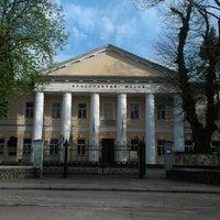 Photo taken at Рівненський краєзнавчий музей by Oleg K. on 4/27/2013