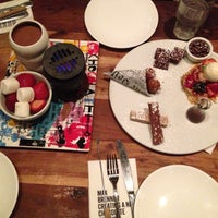 Photo taken at Max Brenner by Batool A. on 5/13/2013