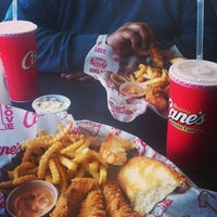 Photo taken at Raising Cane's Chicken Fingers by Melissa A. on 2/26/2013