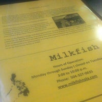 Photo taken at Milkfish by Melissa A. on 2/25/2013