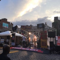 Photo taken at Gansevoort Plaza by Michelle B. on 8/11/2015