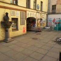 Снимок сделан в Арт-центр «Пушкинская 10» пользователем Дарья Г. 3/21/2013