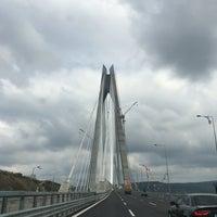 Photo taken at 3rd Bosphorus Bridge South Tower by Muhammet K. on 8/31/2016