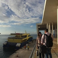 Photo taken at Ferry Terminal Mexico Waterjets by Sand G. on 1/3/2017