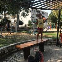 Photo taken at Davutlar Ibrahim Saka Parkı by Ayla G. on 8/22/2017