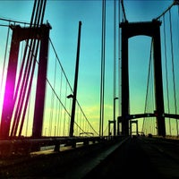 Photo taken at Delaware Memorial Bridge by William Thomas C. on 10/6/2012