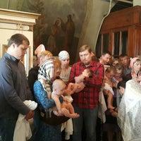 Photo taken at Церковь Рождества Богородицы в Образцово by Natalia S. on 8/26/2017