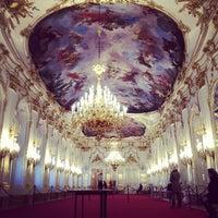 Photo taken at Schonbrunn Palace by Alesya T. on 1/9/2013