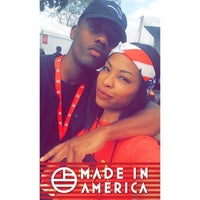 Photo taken at Budweiser Made In America Music Festival by Bri M. on 9/8/2015