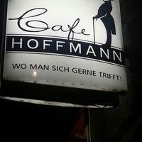 Photo taken at Cafe Hoffmann by 😄Seda 🎈 B. on 4/16/2014