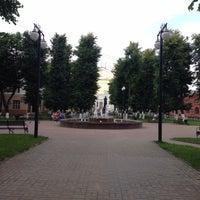 Photo taken at Фонтан в «городе» by Vera K. on 6/19/2016
